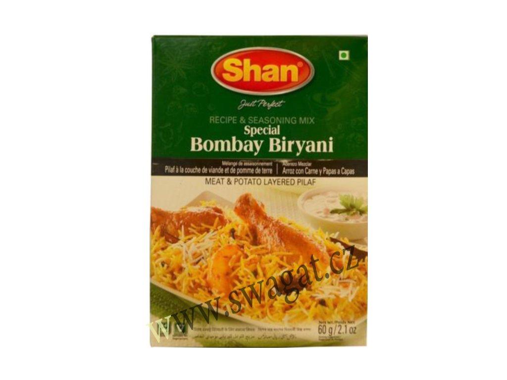 Koření na Bombay Biryani, SHAN 60g