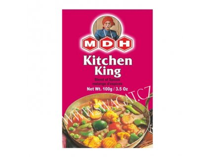 Kitchen King - koření na dušenou zeleninu (Spices for Steamed Vegetables), MDH 100g