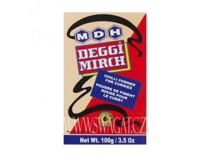 Deggi Mirch - koření chilli, MDH 100g