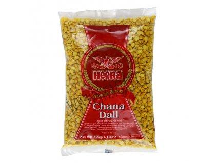 Chana Dall - žlutý hrách, HEERA 500g