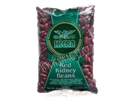 Red Kidney Beans - červené fazole, HEERA 500g