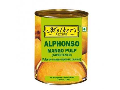 Alphonso Mangové pyré (Mango Pulp), 850g