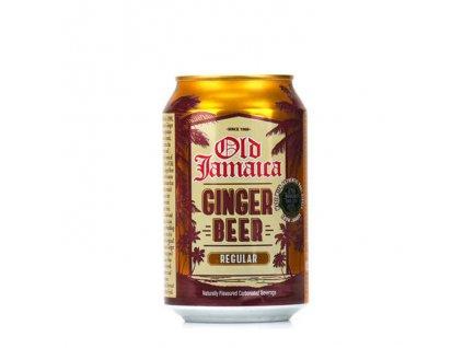Zázvorové pivo nealko (Ginger Beer), Old Jamaica k 330ml.