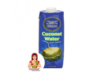 Kokosová voda (Coconut Water), Heera 1L