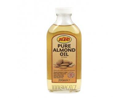 Čístý mandlový olej (Pure Almond Oil), KTC 200ml
