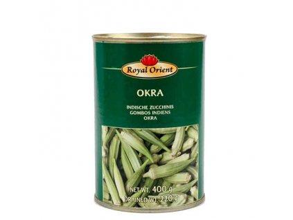 Okra ve slaném nálevu (Okra in Brine), Ashoka 400g