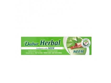 Bylinná zubní pasta s neemem  (Herbal Neem Paste), DABUR 155g