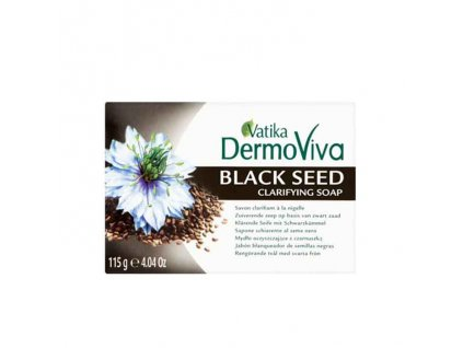 Mýdlo s černým semínkem, VATIKA DERMOVIVA 115g