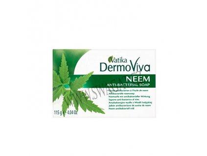 Antibakteriální mýdlo s neemem (Neem Soap), Vatika DermoViva 115g