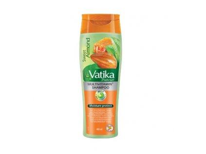 Hydratační šampon Sweet Almond (Moisturizing Shampoo), VATIKA 200ml