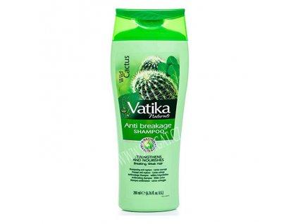 Kaktusový šampon (Wild Cactus Anti Breakage Shampoo), VATIKA 200ml
