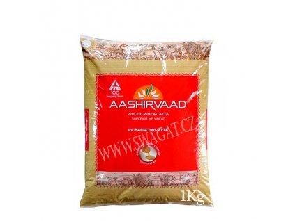 Atta-Celozrnná pšeničná mouka (Whole Wheat Flour), AASHIRVAAD 1kg