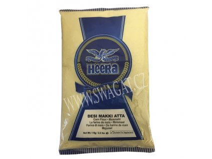 Desi Makki Atta - kukuřičná mouka, HEERA 1kg