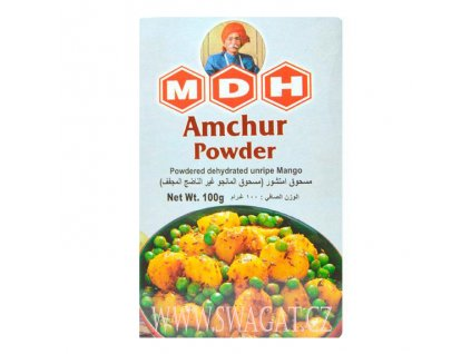 Amchur - mangový prášek (Mango Powder), MDH 100g