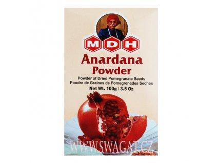 Anardana - granátové jablko mleté, MDH 100g