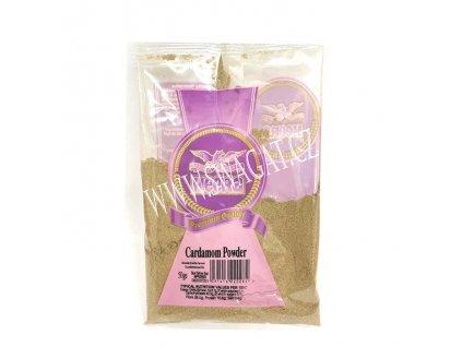 Zelený kardamon mletý (Green Ground Cardamom), HEERA 50g