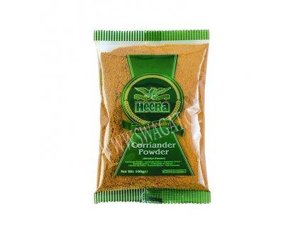Dhania - koriandr mletý (Coriander Powder), HEERA 100g