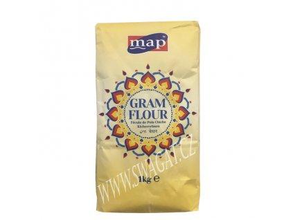 Besan - cizrnová mouka (Gram Flour), MAP 1Kg