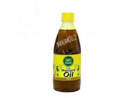 Čístý Hořčičný olej (Pure Mustard Oil), Heera 500ml