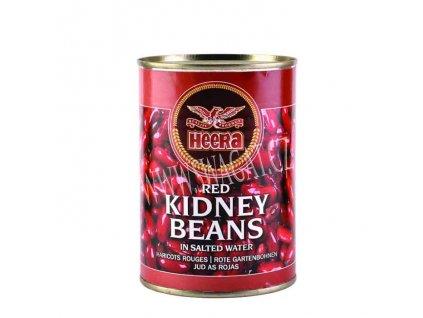 Konzervované fazole červené (Boiled Red Kidney Beans), HEERA 400g