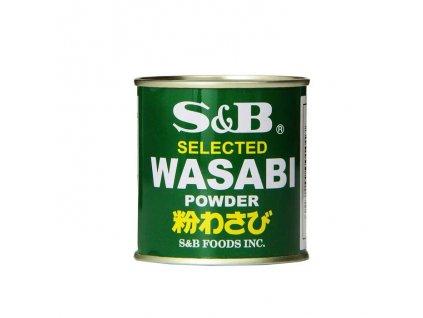 Wasabi prášek (Wasabi Powder), S&B 30g