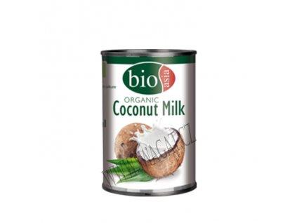 Bio kokosové mléko (Organic Coconut Milk), BIOASIA 400ml
