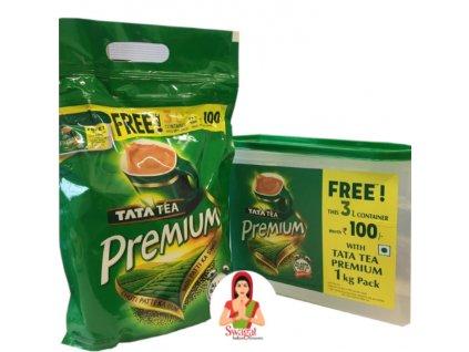 Černý čaj Premium + 3l kontejner (Black Tea Premium), TATA 1Kg