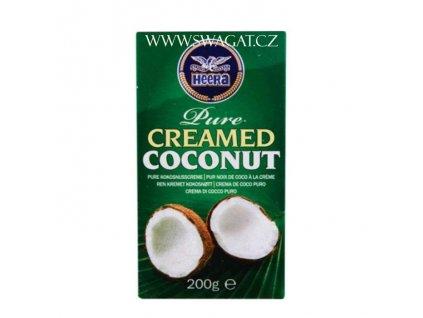 Kokosový krém (Pure Creamed Coconut), HEERA 200g