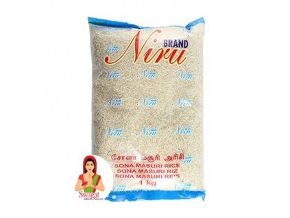 Niru Brand Sona Masoori rýže 1Kg