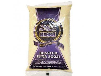 Roasted Sooji - pšeničná krupice hrubá, HEERA 1kg