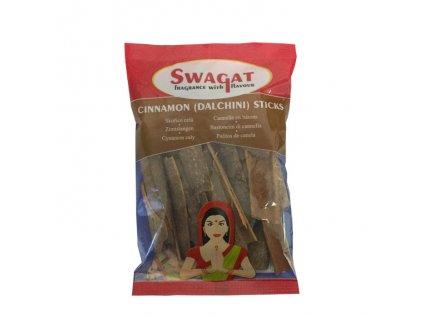 Dalchini - skořicové tyčinky (Cinnamon Sticks), SWAGAT 50g