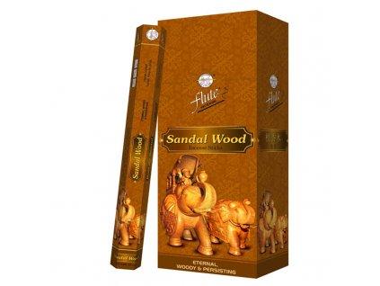 Vonné tyčinky Santálové dřevo 20ks, FLUTE 20ks