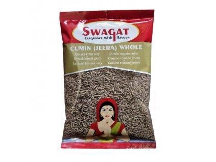 Jeera - římský kmín (Cumin Seeds), SWAGAT 100g