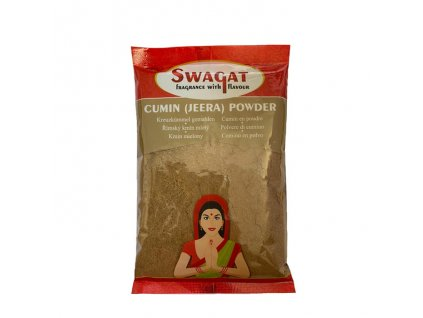 Jeera - římský kmín mletý (Cumin Powder), SWAGAT 100g