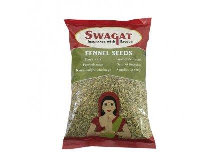 Semena fenyklu (Fennel Seeds), SWAGAT 100g