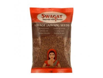 Ajwain -  Libeček semínko (Lovage Seeds), SWAGAT 100g