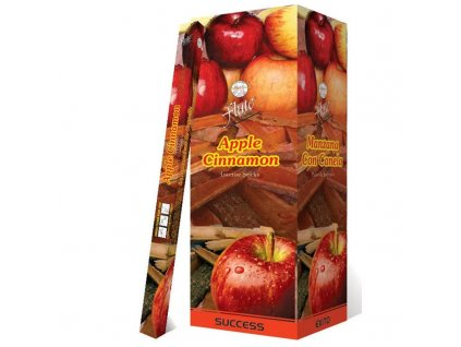 Vonné tyčinky Skořice/jablko (Apple Cinnamon Incense Sticks), 20pc