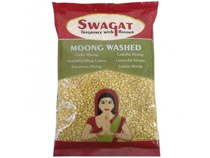Moong Dall Washed - čočka Mung loupaná, SWAGAT 2kg