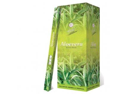 Vonné tyčinky Aloe vera (Aloe Vera Incense Sticks), 20ps