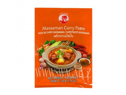 Massaman kari pasta (Curry Paste), COCK BRAND 50g