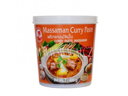 Massaman kari pasta (Curry Paste), COCK BRAND 400g