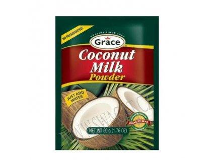 Sušené kokosové mleko (Coconut Milk Powder), GRACE 50g