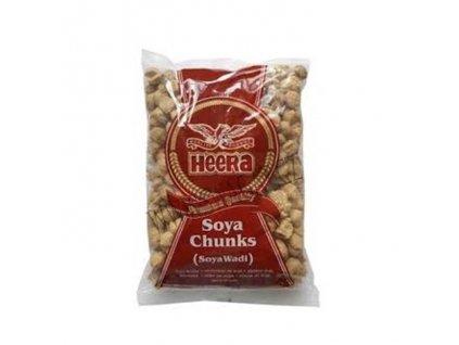 Sušené sójové kuličky (Soya Chunks), HEERA 250g