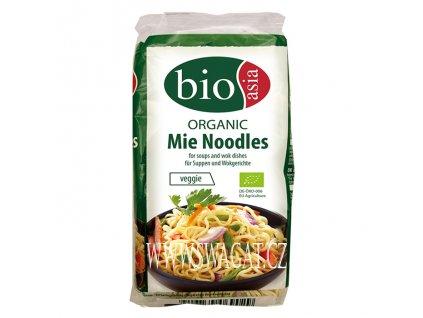 BIO Bezvaječné Mie nudle (Organic Noodles), BIOASIA 250g