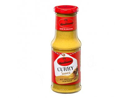 Kari omáčka (Curry Sauce), HANDLMAIER 200ml