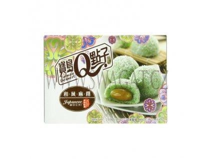 Japonské Mochi kokosové (Japanese Mochi Coconut Pandan), TAIWAN DESSERT 210g