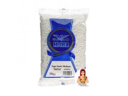 Sago - Tapioka perly Medium, HEERA 500g