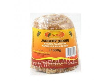 Jaggery (Goor) přírodní palmový cukr, 500g
