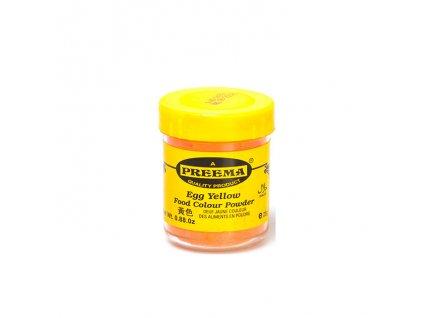 Potravinářská barva prášková žlutá, PREEMA 25g