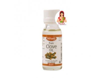 Čistý hřebíčkový olej (Pure Clove Oil), NIHARTI 20g